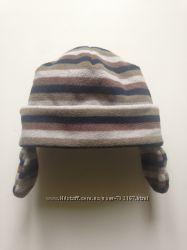 шапка шапки флис тёплая зимняя фирменные до 1, 5 года