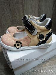 Туфли для девочки, кожа