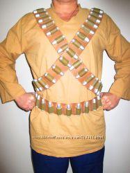 Коммандос Рэмбо Военный костюм с портупеей 46-50