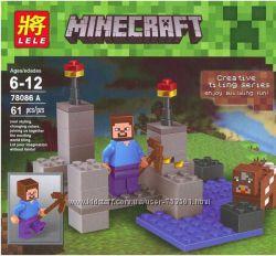 Конструкторы Minecraft в ассортименте