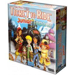 Настольная игра Билет на поезд Ticket to Ride Junior Европа