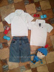 Комплект две футболки Tu, H&M и шорты George на 4 - 5 лет.