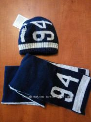 Набор шапка и шарф р. 50