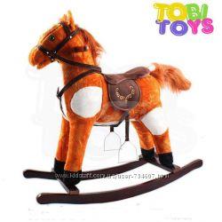 Лошадка-качалка K05 марки Tobi Toys . Oz.