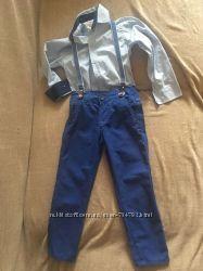Брюки и рубашки на мальчика 110р
