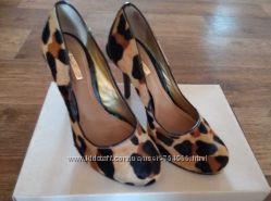 Новые эксклюзивные туфли из меха пони Dumond