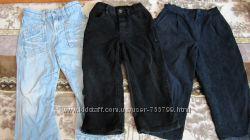 Фірмові джинси на хлопчика 4-6 років
