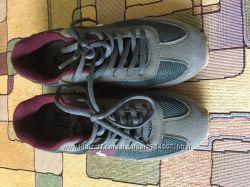 599b0184 Детские кроссовки Polo размер 34 серые с темно серыми и борд. вставками