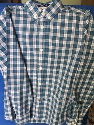 Детская рубашка в клеточку H&M на 9 - 10 лет рост 140 см