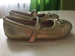 Золотистые туфли Pediped