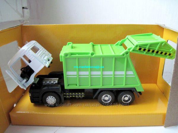 Автовоз, эвакуатор, пожарная, полиция и др металл свет, звук Автопром