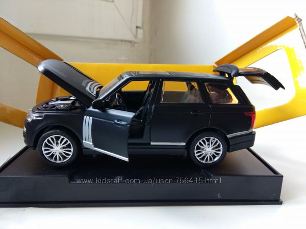 Машинки модельки металл Range Rover свет, звук Автопром