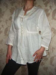 Блуза льняная новая XXL не секонд