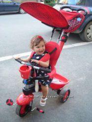 Трехколесный велосипед Smart Trike Zoo 3 в 1 божья коровка