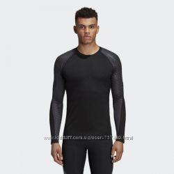 футболка термобелье adidas Techfit AlphaSkin Longsleeve CF7275