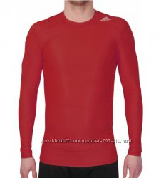 футболка термобелье adidas Techfit Chill LS S95674