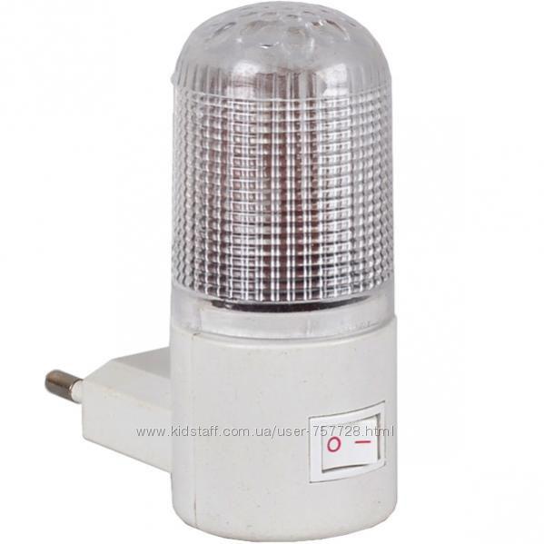 Светодиодный ночной светильник, ночник с выключателем