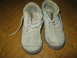 Замшевые демисезонные ботинки р. 11 NEXT