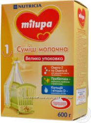 Молочная смесь Milupa 600гр