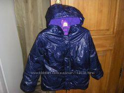 Шикарные деми куртки для девочки 116-122