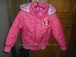 Красивенькие куртки на 104-116 см
