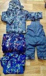 Новые зимние комплекты, куртка и полукомбинезон  Майнкрафт 98-128