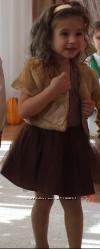 Платье костюм картошки, шоколадное платье , картошка коричневое