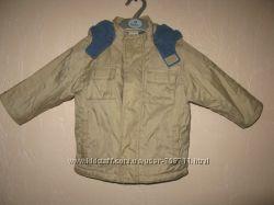 Демисезонная курточка с флисом Cherokee на 2-3 года 98 см с капюшоном
