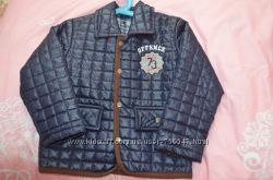 Стильная стеганая куртка для мальчика 86 размера