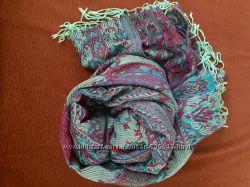 Палантины шарфы шапки