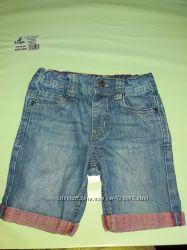 Шорты джинс тонкий