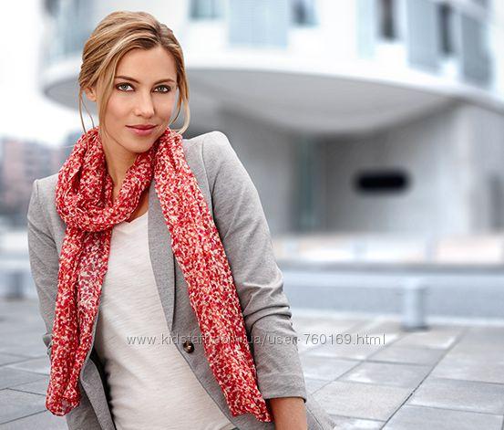 Хороший выбор легких женских шалей от Tchibo  Германия