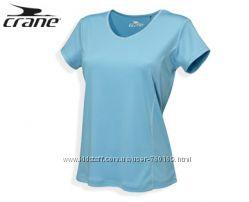 Хорошие женские футболки для спорта тренировок р. 34, 36 от Crane