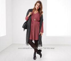Стильное платье для пышной красоты от тсм р. 44-46, германия