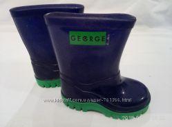 Резиновые сапожки george  размер 20