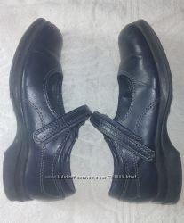 Черные туфельки Smart fit США на девочку - 19, 5 см стелечка