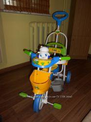 Дитячий трьохколісний велосипед GEOBY
