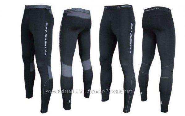 Теплые спортивные штаны Польша мужские для бега на флисе