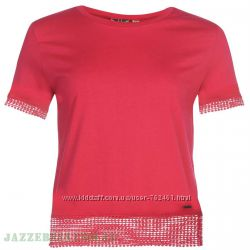 Новая женская футболка Lee Cooper Англия р. 10-S