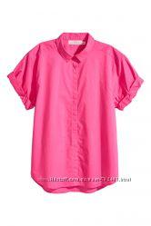 Новая хлопковая блуза H&M Англия р. S-M