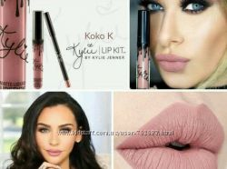 Набор Kylie-матовая помада и карандаш, матовый блеск Кайли