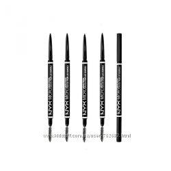 Карандаш для бровей NYX Micro Brow Pencil двухсторонний со щёточкой