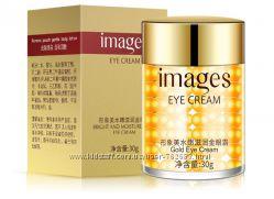 Золотой крем гель для глаз Images Gold Eye Cream 30g, гель крем для век