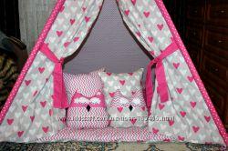 Вигвам, шалаш, палатка с комплектом