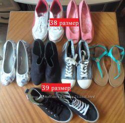 Обувь женская 38, 39 размеры