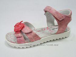 летняя  обувь  для девочек тм  B&G размеры 31 - 36. Расспродажа