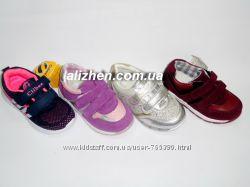 Классные кроссовки для девочка jon-golf, clibee 21 - 26р.