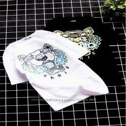 Женская футболка Kenzo кензо S-M-L-XL-XXL