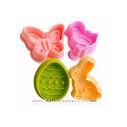 Формочки для фигурного печенья  4 шт.