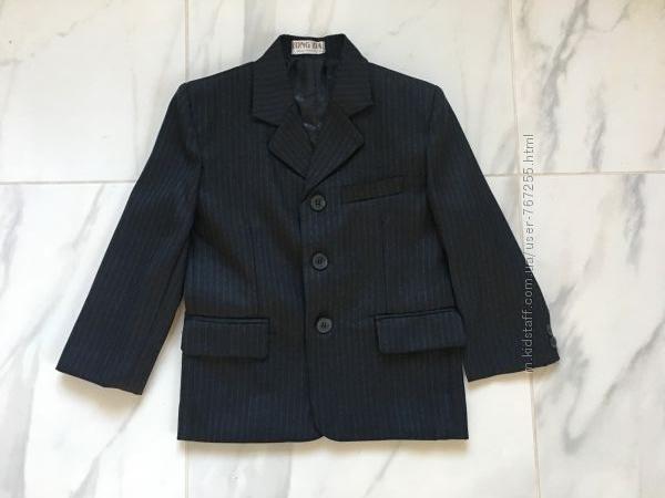 Пиджак 6 лет школьный хлопок